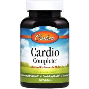 Кардио комплекс, Cardio Complete, Carlson Labs, 90 таблеток
