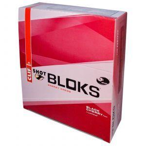 Энергетическая жвачка, Shot Bloks Energy Chews, Clif Bar, 18 жвачек по 60 г