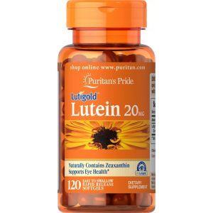 Лютеин с зеаксантином, Lutein, Puritan's Pride, 20 мг, 120 гелевых капсул