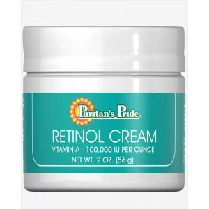 Крем для лица с ретинолом, Retinol Cream, Puritan's Pride, 56 мл