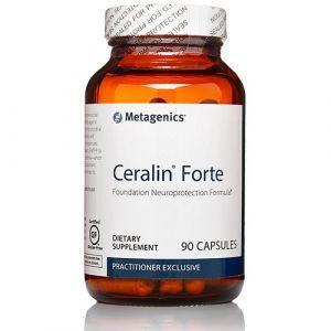 Улучшение работы мозга и нервной системы, Цералин Форте, Ceralin Forte, Metagenics, 90 капсул