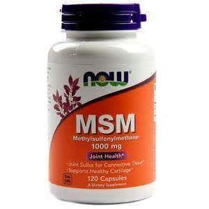 Метилсульфонилметан, MSM, Now Foods, 1000 мг, 120 ка