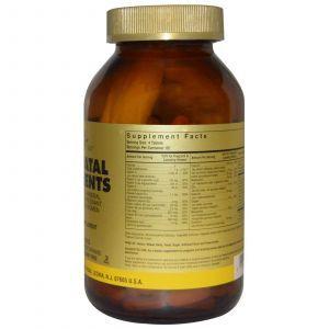 Витамины для беременных, Prenatal Nutrients, Solgar, 240 табл