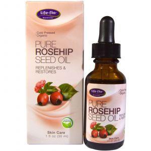 Масло шиповника (Rosehip Seed Oil), Life Flo Health, для кожи, 30 мл