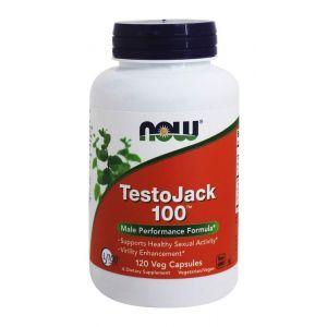 Репродуктивное здоровье мужчин, TestoJack 100, Now Foods, 120 кап
