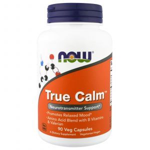 Формула для спокойствия, True Calm, Now Foods, 90 капс