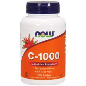 Витамин С-1000, Now Foods, 100 таблет
