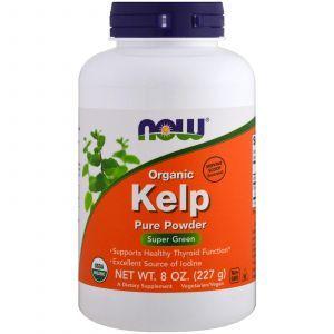 Бурые морские водоросли, Kelp, Now Foods, 227