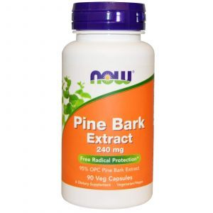 Екстракт соснової кори, Pine Bark, Now Foods, 240 мг, 90 капсул