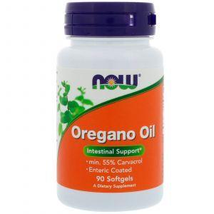 Масло орегано, Oregano Oil, Now Foods, 90 капс