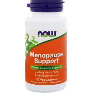Менопауза, Menopause, Now Foods, смесь трав, 90 капс