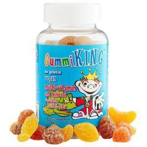 Витамины для детей (Multi-Vitamin), Gummi King, овощи, фрукты, 60 тянуче