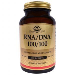Нуклеиновые кислоты, RNA / DNA 100/100, Solgar, 100 табл