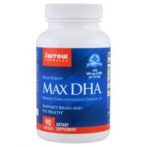 Рыбий жир в капсулах, Max DHA, Jarrow Formulas, 90 капс