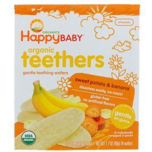Печенье для прорезывания зубов, Gentle Teethers, Nurture Inc, 12 шт. по 4