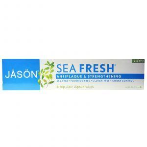 Зубная паста с мятой, Paste, Jason Natural, 170