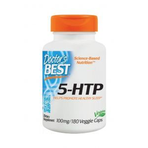 5-НТР, 5- гидрокситриптофан, Doctor's Best, 100 мг, 180 ка