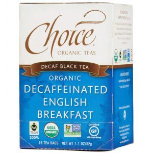 Чай Английский завтрак без кофеина, Choice Organic Teas, 16 штук
