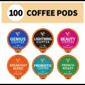 "Набір кави в капсулах ""Різноманітність"", Coffee Pods Variety Pack, VitaCup, 100 капсул"