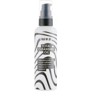 Гидрофильное масло, Total Cleansing Oil, First of All, для глубокого очищения кожи и защиты от пересушивания, 100 мл