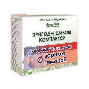 """Природний цільової комплекс """"Варикозне розширення вен"""", GreenSet, рослинні препарати, 4 шт"""