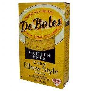 Рожки из кукурузной муки, Corn Elbow Style Pasta, DeBoles, 340 г