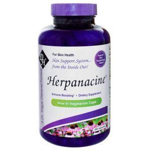 Витамины для кожи, Herpanacine, 200 кап