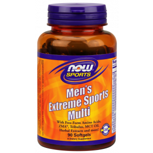 Мультивитамины для мужчин, Men's Extreme Multi, Now Foods, Sports, 90 капсул