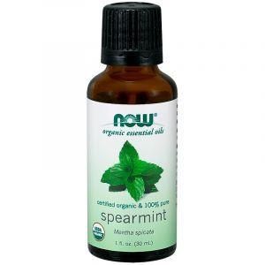 Мятное масло, Essential Oils Spearmint, Now Foods, 30 мл
