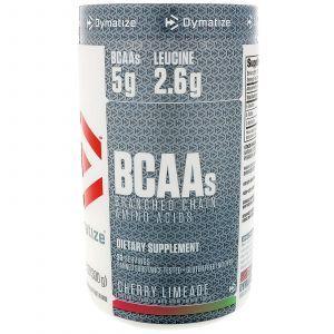 Аминокислоты с разветвленной цепью, BCAA, Branched Chain Amino Acids, Dymatize Nutrition, вишневый лимон, 300 г
