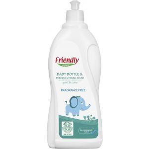 Моющее средство для бутылочек, сосок и посуды, Baby Bottle & Feeding Utensil Wash, Friendly Organic, органическое, без запаха, 750 мл