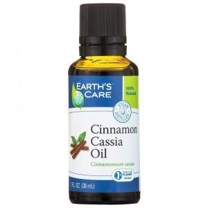 Эфирное масло корицы кассия (Cinnamon Cassiа Oil), Earth's Care, 30 мл