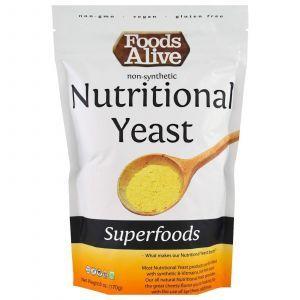 Пищевые дрожжи, (Superfoods, Nutritional Yeast), Foods Alive, 170г