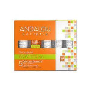 Набір для подорожей, Skin Care Essentials, Andalou Naturals, 5 шт.