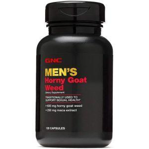 Горянка, сексуальное здоровье, Horny Goat Weed, GNC, для мужчин, 120 капсул