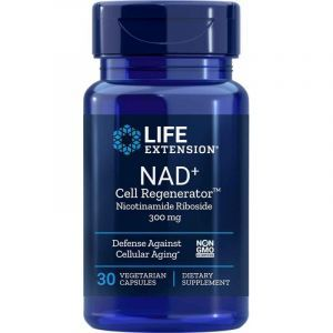 Никотинамид рибозид, NAD+ Cell Regenerator, Life Extension, 300 мг, 30 вегетарианских капсул
