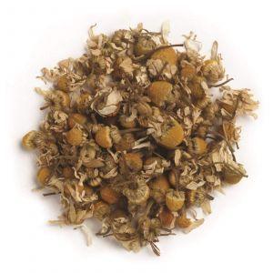 Немецкая ромашка, Whole German Chamomile Flowers, Frontier Natural Products, органик, 453 г