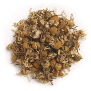Немецкая ромашка, Whole German Chamomile Flowers, Frontier Natural Products, 453 г
