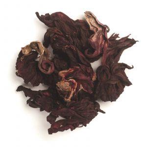 Гибискус, цветы, нарезанные и просеянные, Organic Fair Trade Cut & Sifted Hibiscus Flower, Frontier Natural Products, органик, 453 г