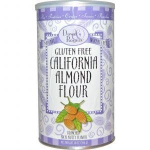 Миндальная мука, Gluten Free California Almond Flour, Fun Fresh Foods, 396 г