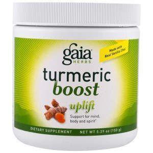 Куркумин смесь, TurmericBoost, Gaia Herbs, 150 г