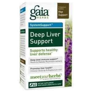 Поддержка печени, Gaia Herbs, 60 капсул