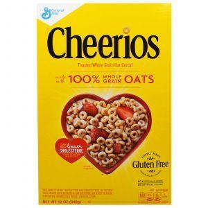 Сухой завтрак, Cheerios, General Mills, 340 г
