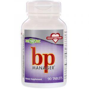 Поддержка кровяного давления, bp Manager, Nature's Way, 90 таблеток