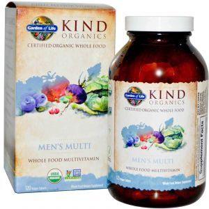 Витамины для мужчин, Garden of Life, 120 таблеток