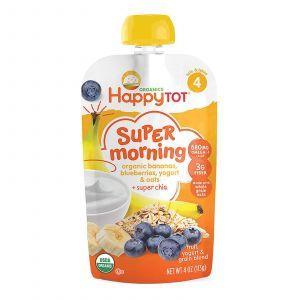 Йогурт со злаками, Yogurt & Grain Blend, Nurture Inc. (Happy Baby), этап 4, 113 г