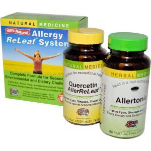 Комплекс от аллергии, Herbs Etc., 60 таблеток/60 кап