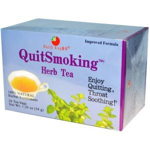 Травяной чай от курения, QuitSmoking Herb Tea, Health King, 20 чайных пакетиков, 34 г