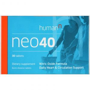 Оксид азота, Neo 40, HumanN, 30 таб.