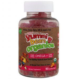 Омега-3 для детей с семенами чиа (без рыбы), Fish Free Omega 3 with Chia Seed, Hero Nutritional, органик, 90 штук